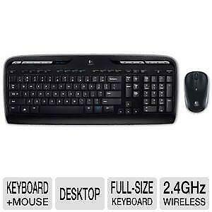 logitech wireless keyboard and mouse ebay. Black Bedroom Furniture Sets. Home Design Ideas