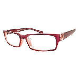 red designer eyeglass frames
