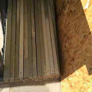 Wooden Deck  Posts