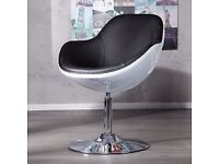 Immaculate condition Retro style swivel egg chair