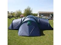 Grenville XTD1508-12-1 (12 berth tent) 3 rooms plus living space & extras