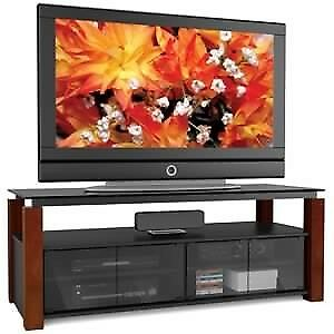 Sonax Berlin TV Stand Real Wood Legs Made In Canada