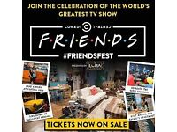 2 tickets Friendsfest Thurs 21st Sept 6.00pm London SOLD OUT EVENT