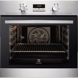 NEW Electrolux EOB3400AOX S/Steel Single Fan Oven - BARGAIN PRICE @ £180