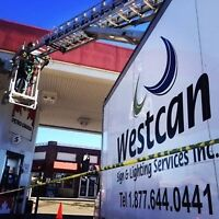 EXPERIENCED Sign & Lighting Technician Needed - FT