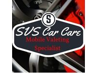 SVS Care Care - Mobile Valeting Specialist - Covering Fife and Surrounding Areas - Book Today !