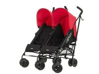 New boxed Double Pushchair