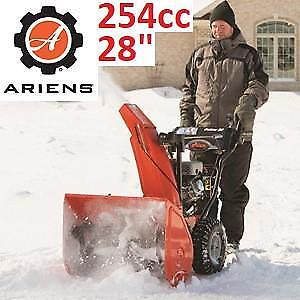 "NEW* ARIENS SNOW THROWER 28"" 921046 159214417 ELECTRIC START 2-STAGE GAS SNOW BLOWER 3254cc SNOWTHROWER 120V"