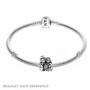 "Authentic Pandora Charm ""Mr. & Mrs."""