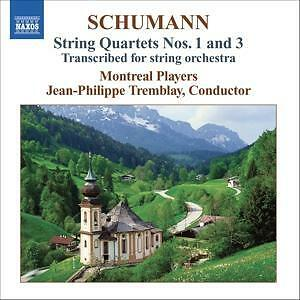 Streichquartett-1-3-Arr-Fuer-Orch-Tremblay-Jean-Philippe-Montreal-Players-Sc