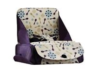 Munchkin portable booster seat, fits any chair