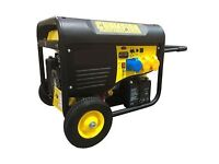 BRAND NEW PETROL GENERATOR 8KW WITH OIL AND FULL TANK OF PETROL