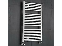 WHITE TOWEL RAILS 50% OFF - CLEARANCE / HALF PRICE SALE - ONLY £35.00 CHEAPEST PRICE EVER