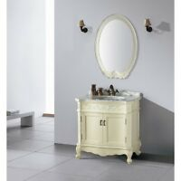"32"" PALERMO BATHROOM VANITY - WHITE"