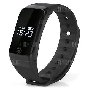 New - Fitness Tracker with heart rate monitor, Blue Tooth Smart