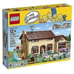 Je recherche lego boite vide simpsons 71006