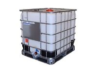 IBC 1000 litre plastic water tank container storage mobile pressure washer for sale in west Glasgow