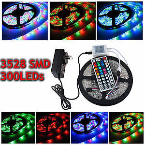 Whole Package LED light Strip + Remote + Power Adapter BrandNew
