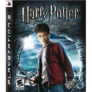 Harry Potter and The Half Blood Prince PS3