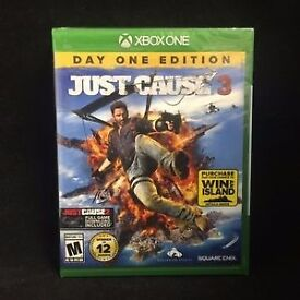 Just Cause 3 - COD Ghosts - The Crew - Xbox one