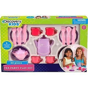 BRAND NEW Tea Party Play Set (30 pieces)