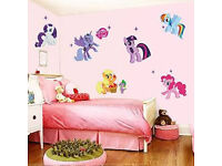 My little pony stickers (9 in total) brand new