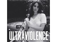 Brand new (in plastic) Lana Del Ray Ultraviolence Vinyl