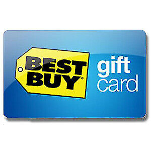 I'm Selling Best Buy E-Gift Card Balance of 500$ For 480$ Cash.