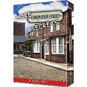 NEW SEALED More Coronation Street Secrets 2 DVD DISK SET