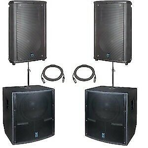 SPEAKER RENTALS - DELIVERED AND SET UP
