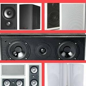 Boxing Week Sales Extended!  50% off! Image PlatinumSeries Speakers, InWall/ceiling/Center,Surround Speakers,indoor/outd