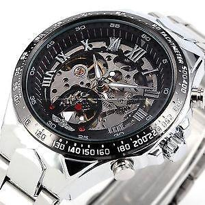 b72a6ce49 Automatic Men's Steel Mechanical Wrist Watch