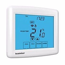 """Heatmiser """"PRT-ETS Wifi"""" & """"PRT-TS WiFi RF"""" Heating Controls"""