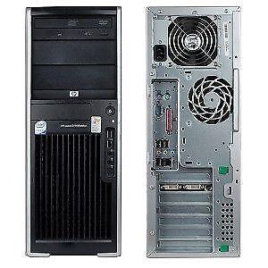 HP COMPAQ DX2000 MT TOWER PC  INTEL PENTIUM 4 2.8GHz 512MB FEDEX