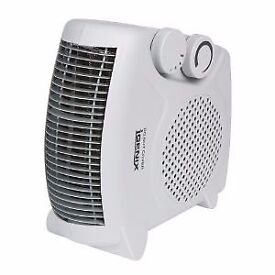 Flat/Upright Fan Heater 2,000 W - White