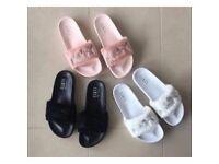 Fenty Puma Sliders - Rihannas Branded flip flops - very comfy - all sizes