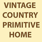 Vintage country primitive home