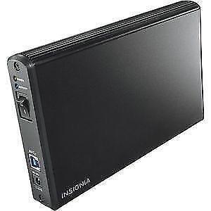 Boîtier pour disque dur SATA de 3,5 po vers USB 3.0 d'Insignia (NS-PCHD335-C)