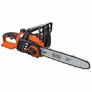 Black and Decker 40V MAX Lithium 12 in. Chainsaw- Used/Boxed!!