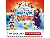 Disney On Ice Passport To Adventure London at the O2 2 Tickets 30 December 2017