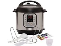 ***BRAND NEW*** RRP 110--Instant Pot Duo V2 8 Litre,7-in-1 Electric Pressure Cooker,220-240v, 1200 W