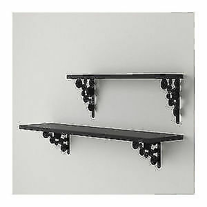 EKBY MANS Ikea Shelf Bracket - Black