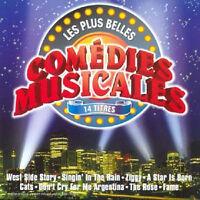 CD - LES PLUS BELLES COMÉDIES MUSICALES (3$)