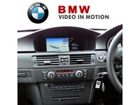 BMW video in motion activation