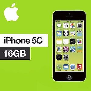 APPLE iPhone 5C 16GB GREEN FACTORY UNLOCKED 6 MONTHS WARRANTY VERY GOOD CONDITION LAPTOP/PC USB LEAD