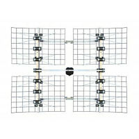 FOCUS 8-Bay Long Distance Multi-Directional HDTV Antenna(UHF/VHF