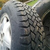 Assortment Of Used Winter And Summer Tires