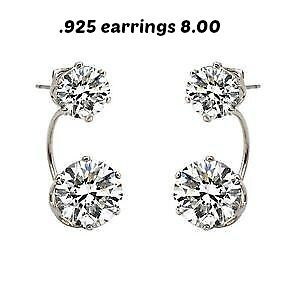 earing all 925 brand new in box  any 2 for 5.00