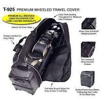 Travel Golf Bag NEW PREMIUM Bag Boy T-925  Black