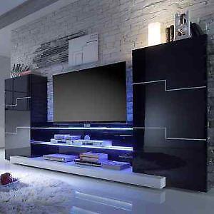 wohnwand g nstig online kaufen bei ebay. Black Bedroom Furniture Sets. Home Design Ideas